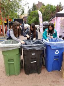 volunteers at Taste of Calgary